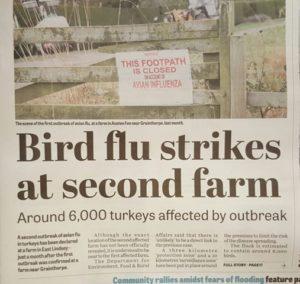Bird Flu in Lincolnshire: Second outbreak