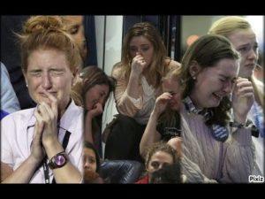 Democrats crying