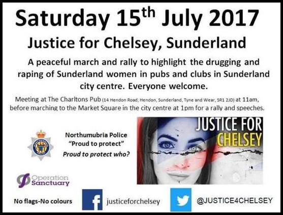 Justice for Chelsey rally