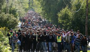Demographic jihad: refugees marching through Europe