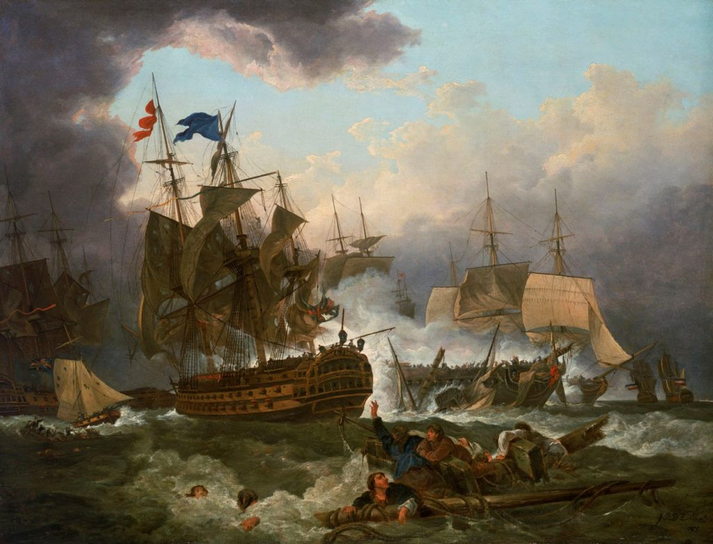 The Battle of Camperdown was a stunning victory for the Royal Navy