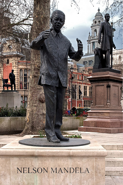 The Nelson Mandela statue in Parliament Square, London: Is it time to remove it?