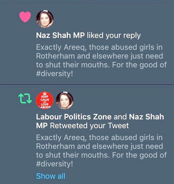naz shah tweet
