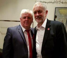Equality and diversity: Labour MP Labour MP Hugh Gaffney with Jeremy Corbyn