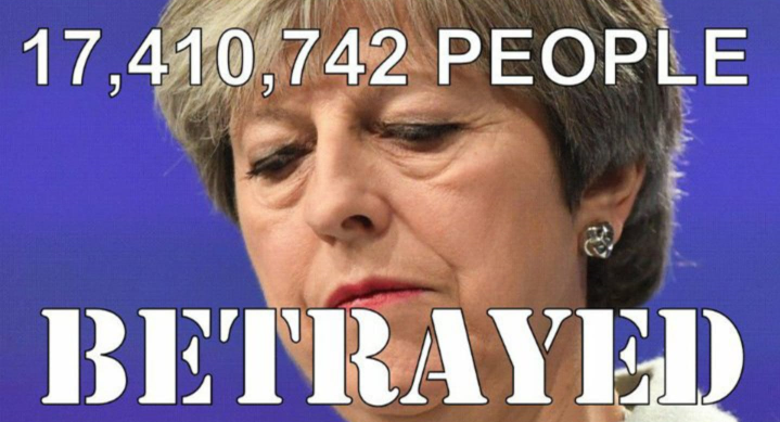 Freedom of Movement: Theresa May has betrayed over 17 million people.