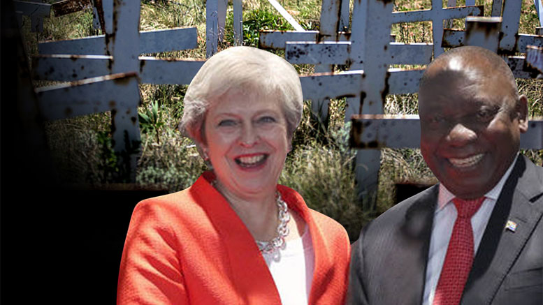 MAY DANCES FOR ANC TO ENDORSE MASSACRE OF WHITE FARMERS.