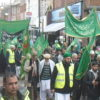 VIDEO - Muslims march to take Watford
